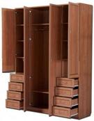 Шкаф с полками для одежды и белья