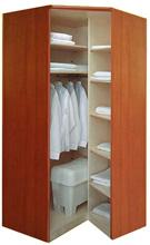 Угловые шкафы для одежды