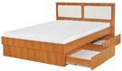 Кровати с выдвижными ящиками для белья