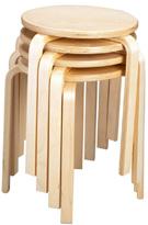 Кухонные табуретки из дерева