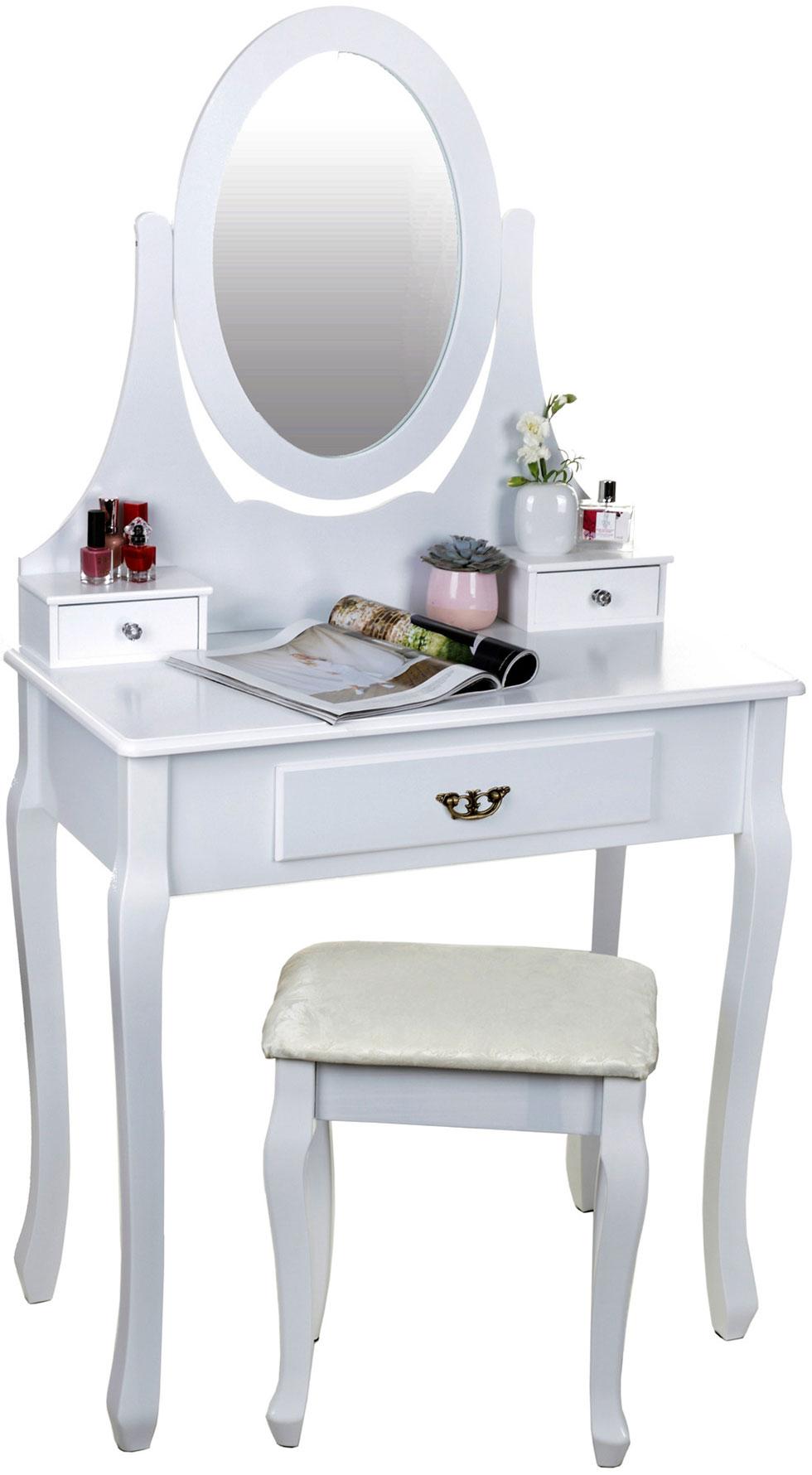 Туалетный столик с зеркалом и табуретом Giosedio