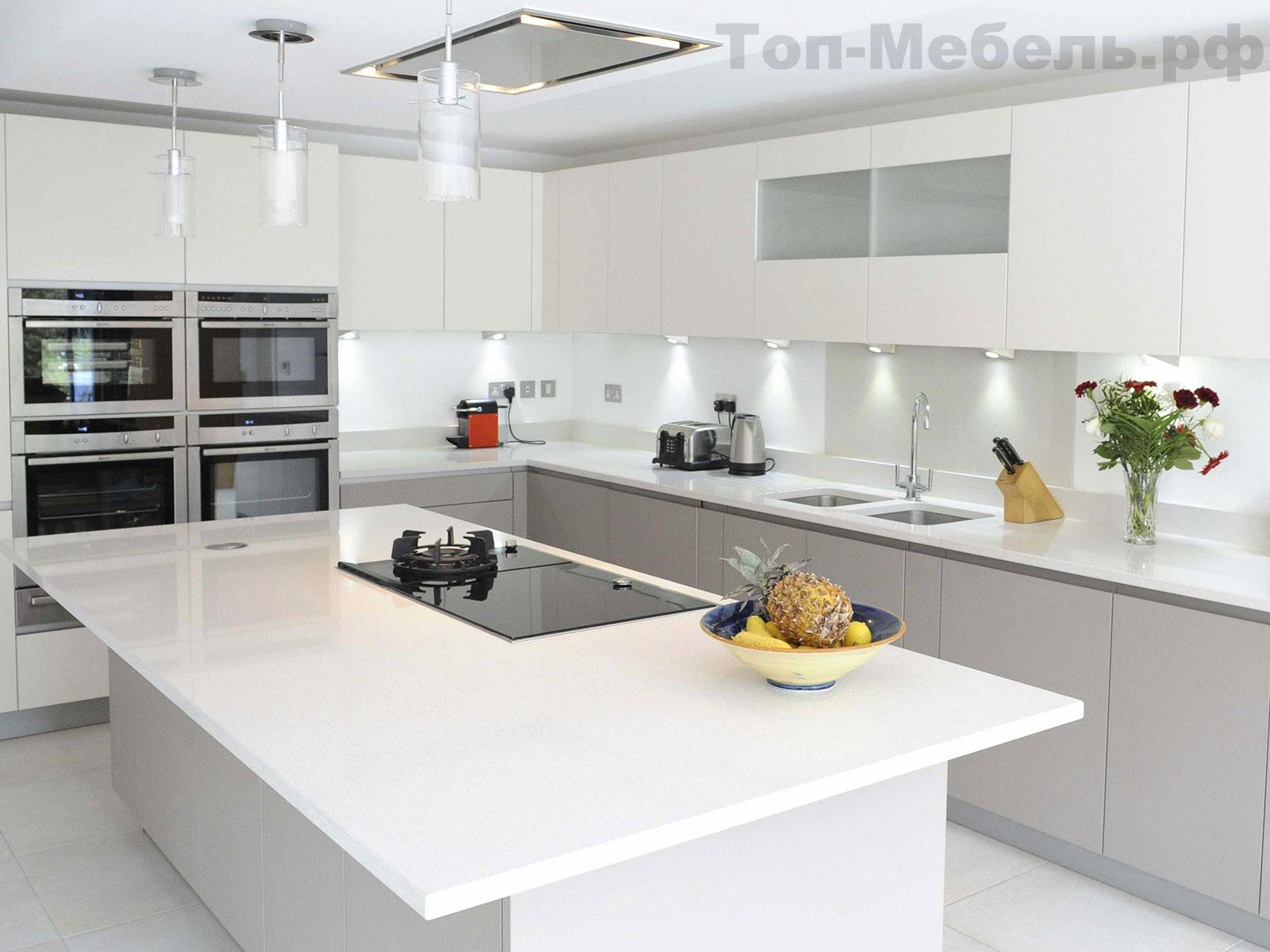 Готовая кухня в стиле минимализм