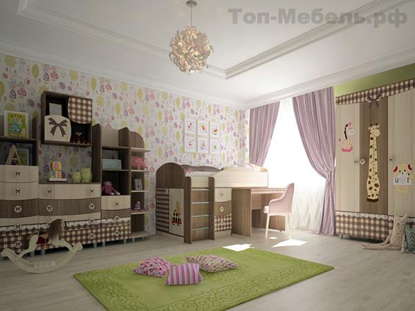 Детская мебель Алиса МК Премиум