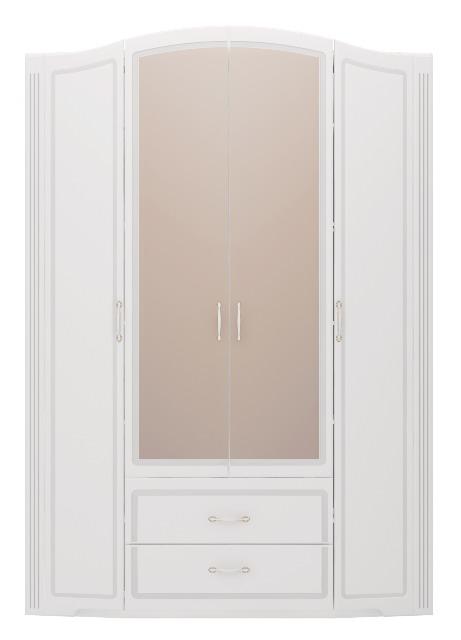 2ac930a1faded Шкаф 4-х дверный с зеркалом Виктория №2 цена в интернет-магазине Топ ...